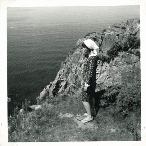 On a visit to Sweden summer 1965