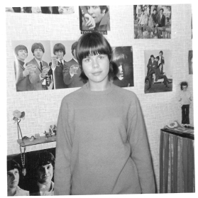 My decorated room in the autumn 1964. Paul Jones and The Kinks are added to the collection