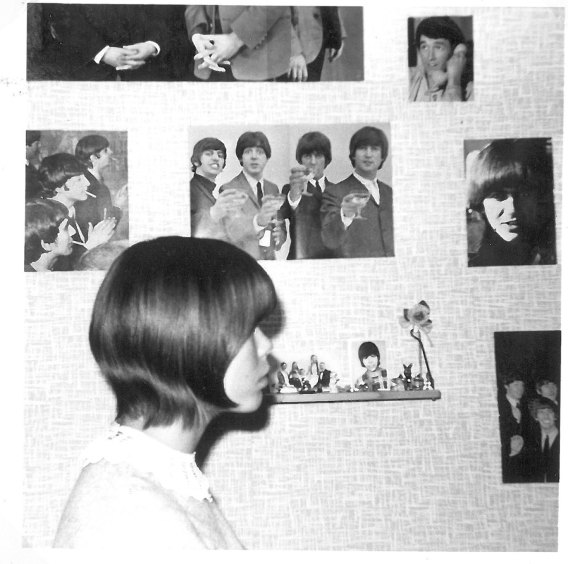 1964 among Beatles' hair