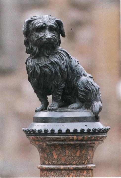 Bobby the mascot of Edinburgh