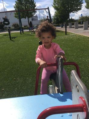 Granddaughter in Sweden