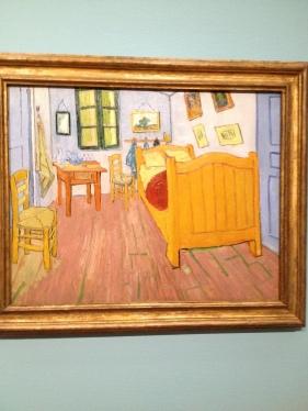 Vincent Van Gogh seen in Amsterdam