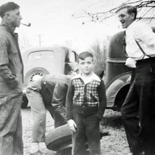 Jørgensen og reparation af bilen