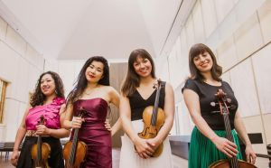 Azuri string quartet photo ithacacom