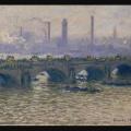 Monet's Waterloo Bridge at the Ordrupgaard Museum inDenmark