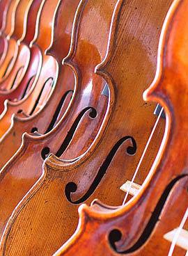 Violiner foto Jens Stenz violinbygger