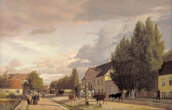 C. Koebke at Oesterbrogade in Copenhagnen