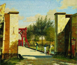 C. Koebke the red gate of the Citadel of Copenhagen