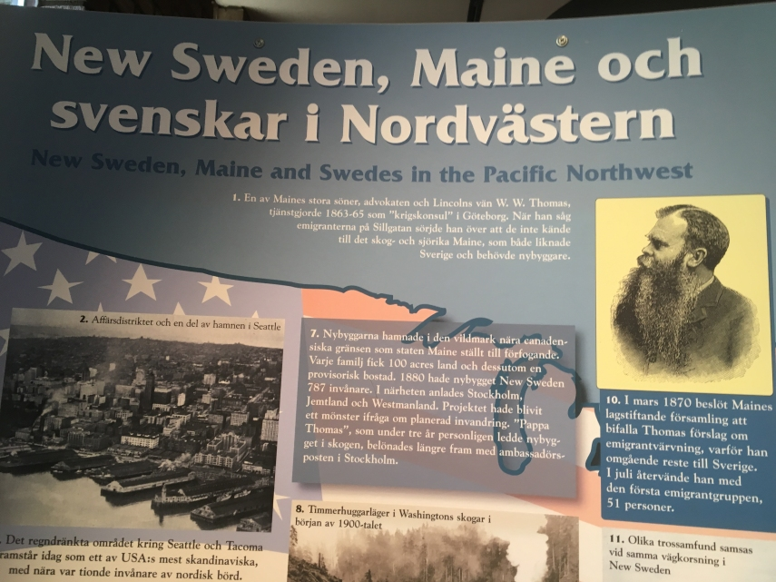 New Sweden, Maine and Swedish in the North West
