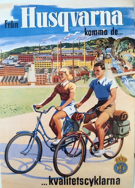 Huskvarna postcard