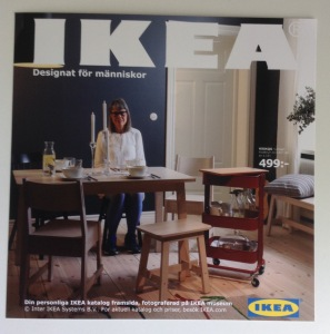A fake IKEA catalog you could make as a guest