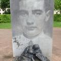 The memorial for Raul Wallenberg at Hagachurch