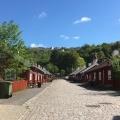 The historical street inHuskvarna