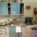 A 1950s retro kitchen with Husquarnaproducts