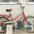 A girl's Husquarna bike from1950s