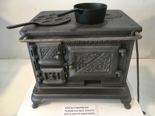an iron cast stow