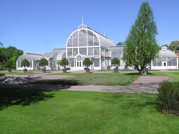 The Green House in Chrystal Palace Style in The Garden Association in Gothenburg