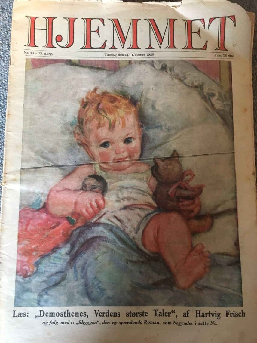 An old weekly journal from 1920s