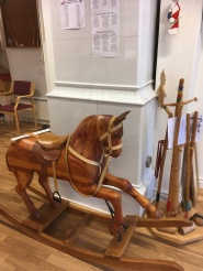 a rocking horse