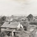Worn houses along the railway in EasternGermany
