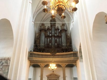 The Cathedral in Aarhus Denmark