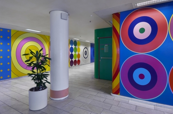 Poul Gernes' art at Herlev Hospital
