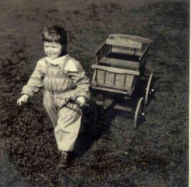 Me Lersøpark spring 1953