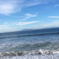 From the beach of Oxnard looking towards The ChannelIslands
