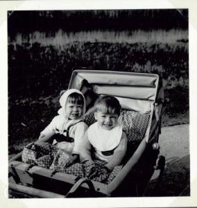 Torben og jeg i Lersøparken