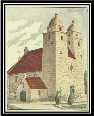 The church where my grandfather was a parish clerk