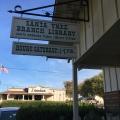 California Library Sign