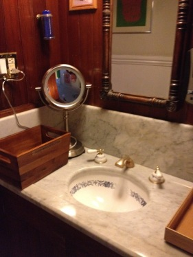 One of the shared sink