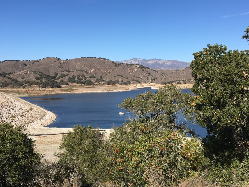 Sightseeing at Lake Casitas