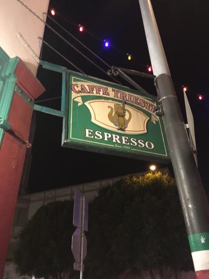"""""""Caffe Trieste"""", Columbus Avenue"""