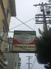 The adjacent restaurant