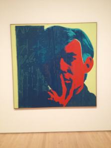 Andy Warhol (Self portrait)