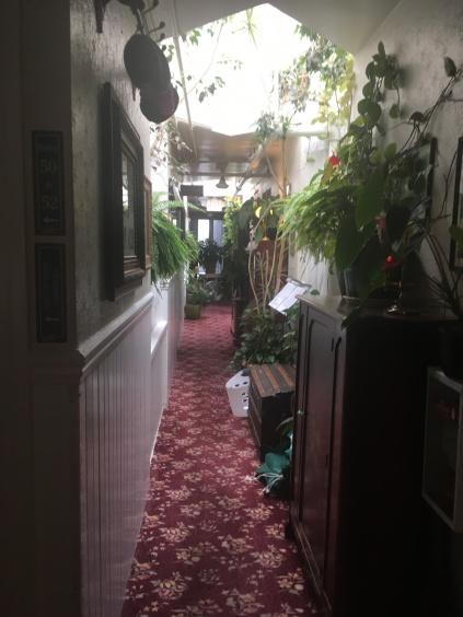 San Remo Hotel corridor