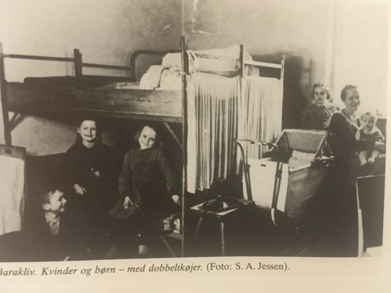 A German family in a camp