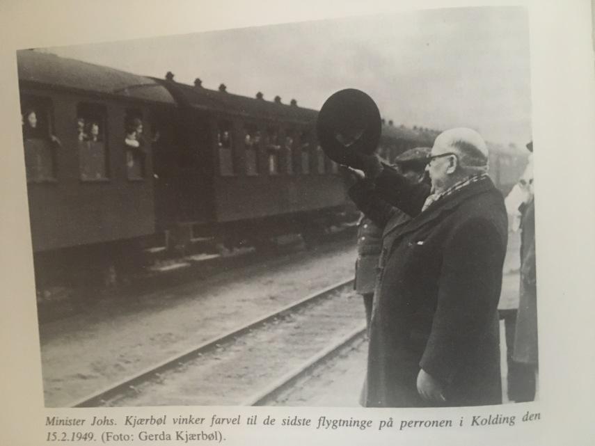 De tyske flygtninge i DK Afsked
