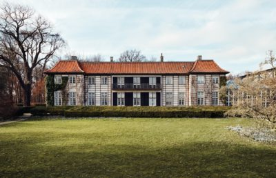 A view at the old Ordrupgaard as it looks now from The Museum's homepage