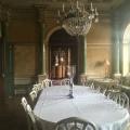 The dining room at Fuglsang ManorHouse