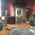 One of the rooms in connection with the dining room at Fuglsang Manor House