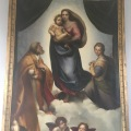 a copy of Raffael's Madonna painting from Dresden