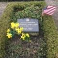 Jack E. Wagner's grave in MarstalAeroe