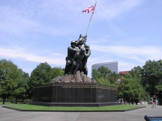 The Iwo Jima Memorial in Washington DC (Photo MH)
