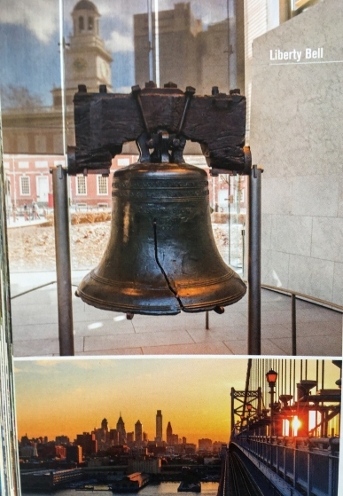 The Liberty Bell in Philladelphia