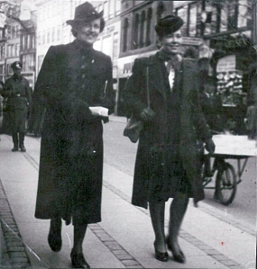 Ermegaard and Helle in Copenhagen during the war