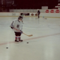 My youngest on ice in Uppsala Sweden 1995