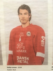 From Herning , playing for Pelicans Finland