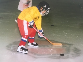 My youngest in Uppsala Sweden 1995